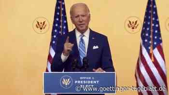"""Biden: """"Unsere Demokratie wurde auf die Probe gestellt"""""""