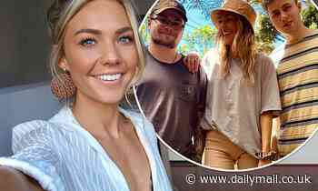 Sam Frost FINALLY reunites with her brothers after months apart due to COVID-19 restrictions
