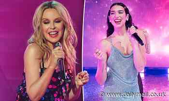 Kylie Minogue to collaborate with Dua Lipa at huge Studio 2054 virtual concert event