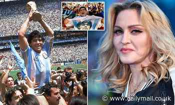 Australians think MADONNA is dead after mistaking the pop superstar for Diego Maradona