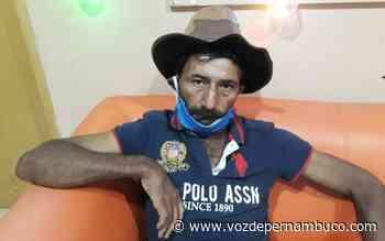 Homem diz estar perdido e procura filha em Carpina - Voz de Pernambuco