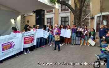 'Mujeres ¡Hablemos Fuerte!', nace a raíz del asesinato de Nancy Guadalupe - El Sol de San Juan del Río