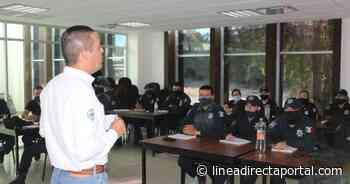 Capacitan a policías de El Fuerte en proximidad social - Linea Directa