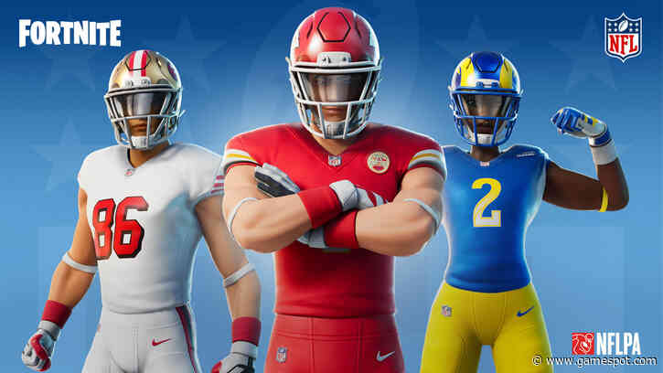 Fortnite Adds New NFL Skins And Emotes