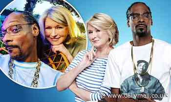 Rapper Snoop Dogg says he loves baking 'brownies' with Martha Stewart