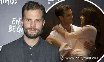 Jamie Dornan talks about the 'freaky' fan mail he has received from Fifty Shades of Grey fans