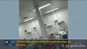 Funcionários do Hospital de Saracuruna, em Duque de Caxias, denunciam superlotação - G1