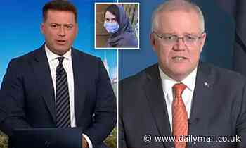 Scott Morrison snaps at Karl Stefanovic during Today interview about Australian locked up in Iran