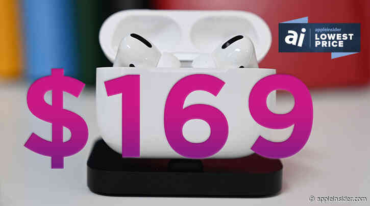 AirPods Pro drop to record low $169 price for Black Friday