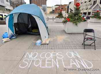 Protesters 'conflating' housing and policing issues: Hamilton's deputy chief - TheSpec.com