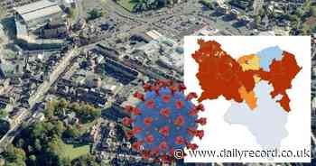 Hamilton was the only part of South Lanarkshire to see drop in Covid cases last week - Daily Record