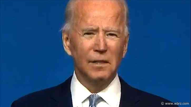Biden appeals for unity in Thanksgiving-eve address