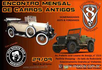 Encontro Mensal de Carros Antigos V8&Cia – Paulinia, SP • 29/09/2019 - Portal Maxicar de Veículos Antigos