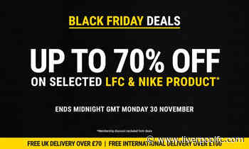 LFC Retail's Black Friday sale is under way - Liverpool FC