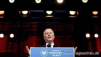 """Biden verurteilt Trump: """"Unsere Demokratie auf die Probe gestellt"""""""