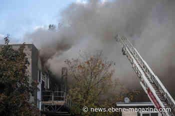 EbeneNews - CA - PHOTOS - Major fire in an apartment building in Greenfield Park - Le Courrier du Sud - EBENE MAGAZINE