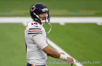 Matt Nagy:  I have all the confidence in the world in Mitchell Trubisky