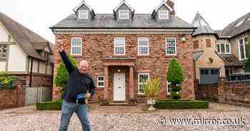 Heartbroken dad seeking new start after wife died wins £1m house - at £10 cost
