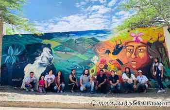 Murales por la paz en Tello, Baraya y Colombia - Diario del Huila