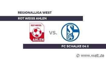 Rot Weiss Ahlen - FC Schalke 04 II: Remis dank spätem Treffer von Ceka - Regionalliga West - DIE WELT