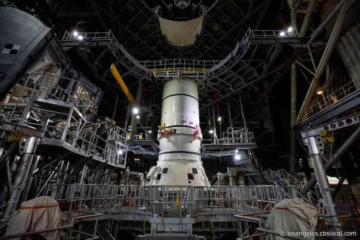 NASA Begins Assembling Rocket That Will Take First Woman To Moon
