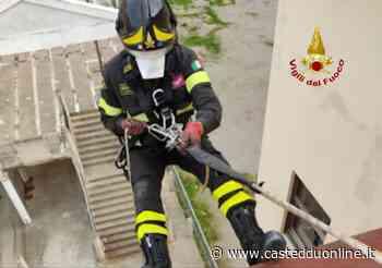 Iglesias, i vigili del fuoco soccorrono una donna caduta in casa - Casteddu Online