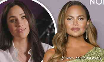 Chrissy Teigen calls Twitter user 'piece of s**t' for criticizing Meghan Markle's miscarriage essay