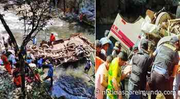 ▷ Puno: vehículo cae a barranco de 200 metros y cinco personas fallecen - Noticias Peru - Noticias por el Mundo
