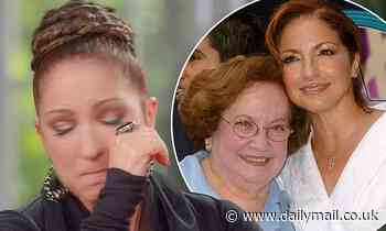 Gloria Estefan tears up talking about mother's death