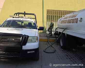 Se suma gobierno de Coacalco a medidas por reducción de agua del sistema Cutzamala - Agencia NVM