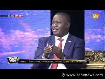 🛑SAOUROU SENE ET LA TEAM INTENSE SUR LA PLACE DES LANGUES DANS L'ÉCOLE SÉNÉGALAISE - 2STV - Actualité au Sénégal
