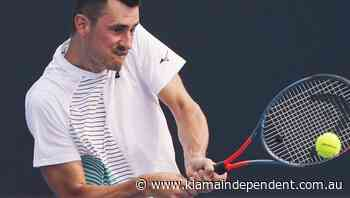 Tomic makes tennis return after 8 months - Kiama Independent-Lake Times