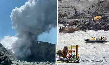 White Island survivor, 64, who suffered serious burns in volcano explosion dies in hospital