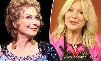 Kerri-Anne Kennerley, 67, looks unrecognisable as she rehearses for her new musical Pippin in Sydney