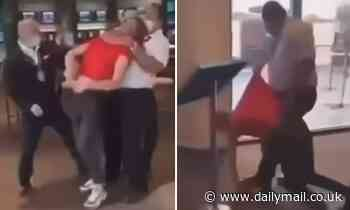 Security guard is sacked after putting a teenager into a chokehold at a Melbourne pub