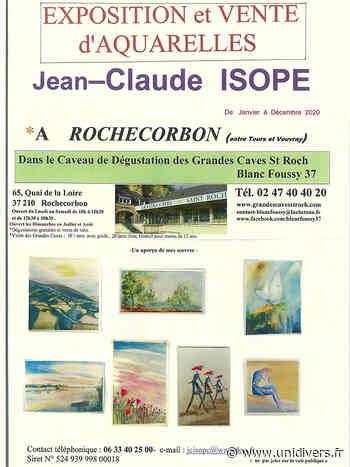 Jean-Claude ISOPE Expose ses Aquarelles mardi 1 décembre 2020 - Unidivers