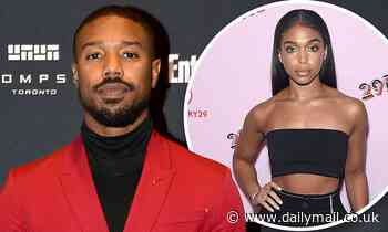 Michael B. Jordan and Lori Harvey are seen departing a plane in her hometown of Atlanta