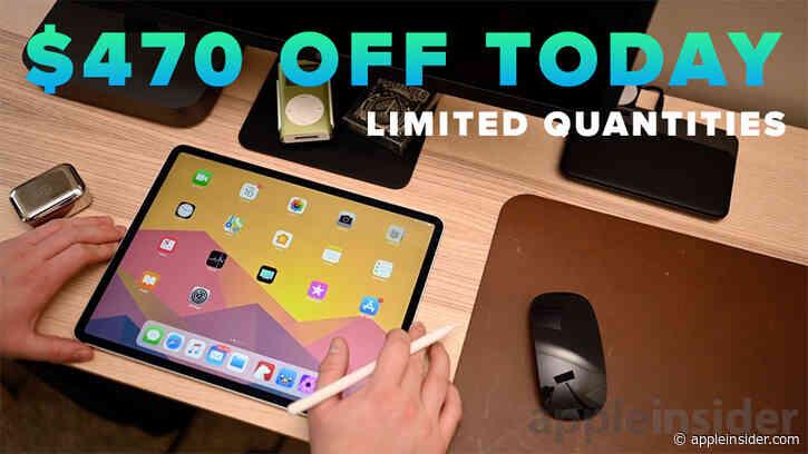 24-hour flash Deal Zone: $470 off 256GB 12.9-inch iPad Pro w/ LTE