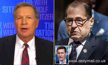 Jerry Nadler calls Trump's pardon of Flynn 'unprincipled' - but John Kasich says: 'Let's move on'
