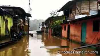 Río Atrato se desbordó en Lloró, Chocó, donde 270 familias están afectadas - Noticias RCN