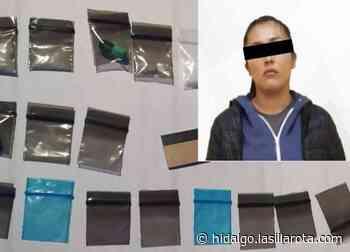 Detienen a mujer por portar droga en Pachuca - La Silla Rota