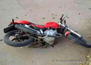 Resultan heridos 2 motociclistas en accidentes en Pachuca y Epazoyucan - La Silla Rota