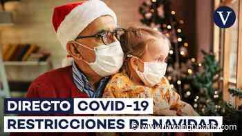 Coronavirus | Plan de vacunación y las medidas de Navidad contra la Covid, última hora y datos de rebrotes en directo - La Vanguardia