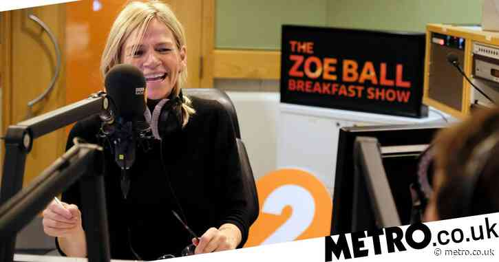 Why was Zoe Ball not on Radio 2 today and when will she be back?