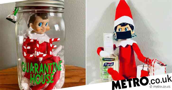 Mum quarantines Elf on the Shelf for 14 days but Santa says there's no need