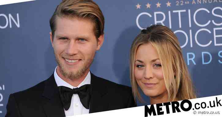 Kaley Cuoco and husband Karl Cook pay tribute as their elderly rescue dog Petunia dies