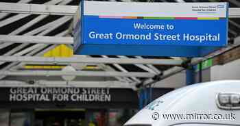 Great Ormond Street porter accused of 84 sex offences including rape of children