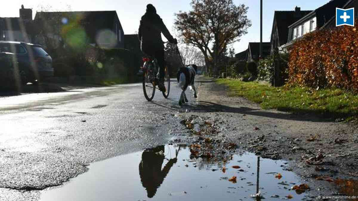 Straßenbau in der Gemeinde Ganderkesee: Das zahlen Anwohner für den Brookdamm-Ausbau - Nordwest-Zeitung