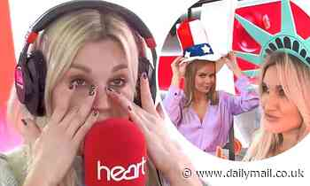 Ashley Roberts cries when her mum surprises her with a Thanksgiving video call on Heart FM