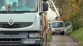 À Octeville-sur-Mer, le chantier de la fibre optique est plus important que prévu - Paris-Normandie